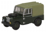 Oxford Diecast NLAN188020 Land Rover Series I 88'' Canvas REME